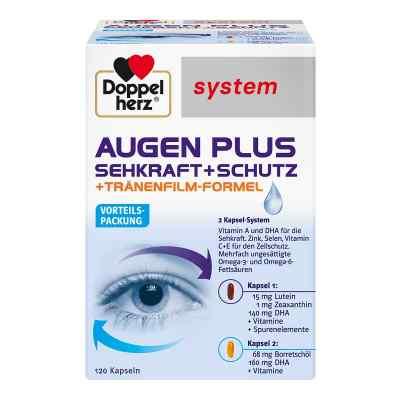 Doppelherz Augen plus Sehkraft+Schutz System Kapsel (n)  bei deutscheinternetapotheke.de bestellen