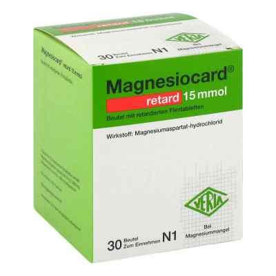 Magnesiocard retard 15 mmol Beutel mit ret.Filmtabl.  bei deutscheinternetapotheke.de bestellen