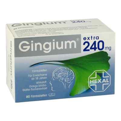 Gingium extra 240mg  bei deutscheinternetapotheke.de bestellen