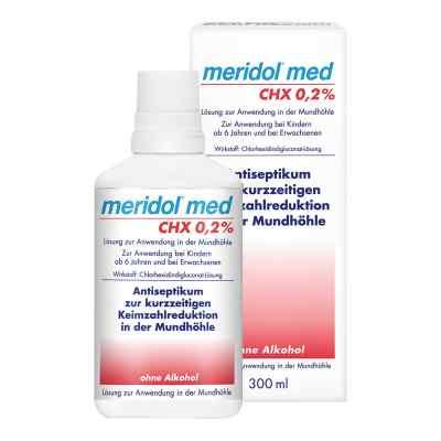 Meridol med CHX 0,2% Lösung zur Anwendung in der Mundhöhle  bei deutscheinternetapotheke.de bestellen