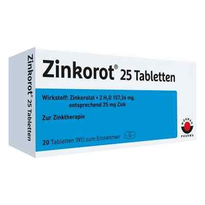 Zinkorot 25  bei deutscheinternetapotheke.de bestellen