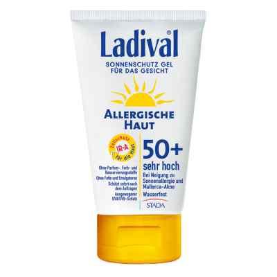 Ladival allergische Haut Gel Gesicht Lsf 50+  bei deutscheinternetapotheke.de bestellen