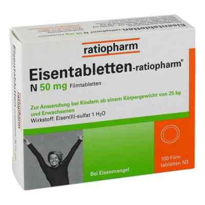 Eisentabletten-ratiopharm N 50mg  bei deutscheinternetapotheke.de bestellen
