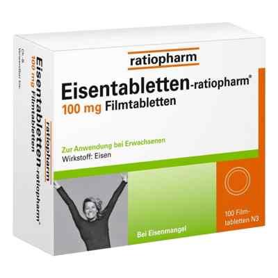 Eisentabletten-ratiopharm 100mg  bei deutscheinternetapotheke.de bestellen
