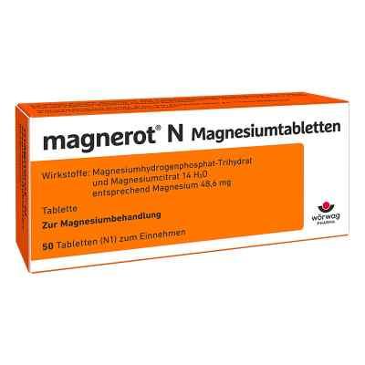 Magnerot N Magnesiumtabletten  bei deutscheinternetapotheke.de bestellen