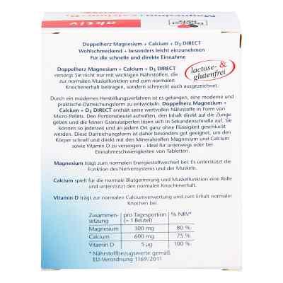 Doppelherz Magnesium + Calcium + D3 direct Pellets  bei deutscheinternetapotheke.de bestellen