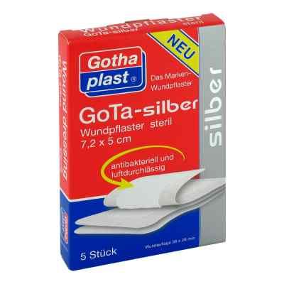 Gota Silber Wundpflaster 5x7,2 cm steril  bei deutscheinternetapotheke.de bestellen