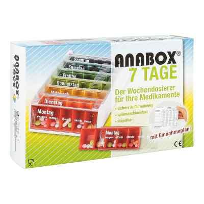 Anabox 7 Tage Regenbogen mit Einnahmeplan  bei deutscheinternetapotheke.de bestellen