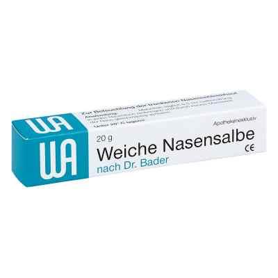 Weiche Nasensalbe noctu Doktor Bader  bei deutscheinternetapotheke.de bestellen