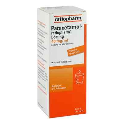 Paracetamol-ratiopharm 40mg/ml Lösung zum Einnehmen  bei deutscheinternetapotheke.de bestellen