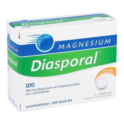 Magnesium Diasporal 100 Lutschtabletten  bei deutscheinternetapotheke.de bestellen