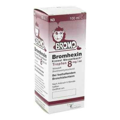 Bromhexin Krewel Meuselbach 8mg/ml  bei deutscheinternetapotheke.de bestellen