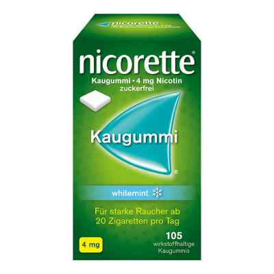 Nicorette 4mg whitemint  bei deutscheinternetapotheke.de bestellen