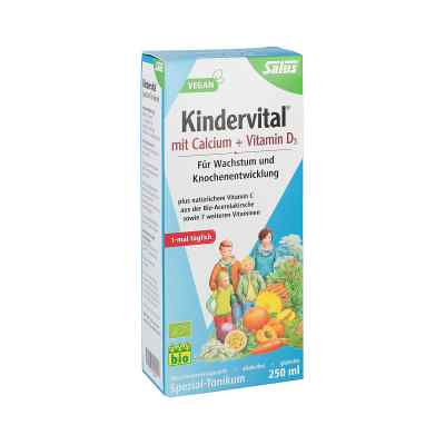 Kindervital Bio mit Calcium+d3 Tonikum Salus  bei deutscheinternetapotheke.de bestellen