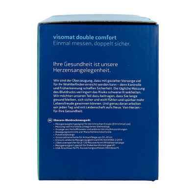 Visomat double comfort Oberarm Blutdruckmessger.  bei deutscheinternetapotheke.de bestellen