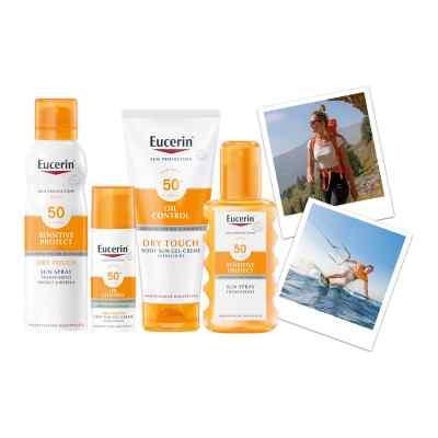 Eucerin Sun Sensitive Protect Spray Transparent LSF 50  bei deutscheinternetapotheke.de bestellen