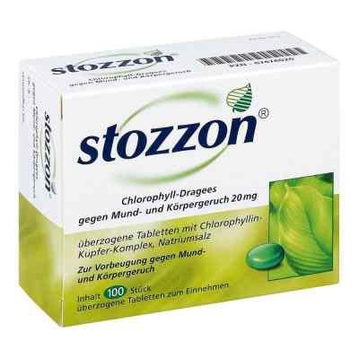 Stozzon Chlorophyll-Dragees gegen Mund- und Körpergeruch  bei deutscheinternetapotheke.de bestellen
