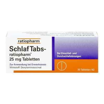 SchlafTabs-ratiopharm 25mg  bei deutscheinternetapotheke.de bestellen