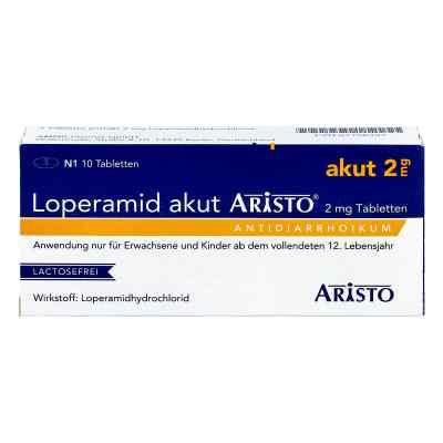 Loperamid akut Aristo 2mg  bei deutscheinternetapotheke.de bestellen
