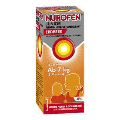 Nurofen Junior Fieber- und Schmerzsaft Erdbeer 40mg/ml  bei deutscheinternetapotheke.de bestellen