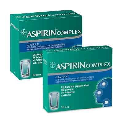 Aspirin Complex Granulat Sparpaket  bei deutscheinternetapotheke.de bestellen