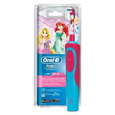 Oral-B Stages Power Kids Elektrische Zahnbürste Princess  bei deutscheinternetapotheke.de bestellen