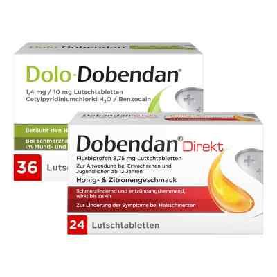Dolo-Dobendan 36 stk + Dobendan Direkt Flurbiprofen 24 stk  bei deutscheinternetapotheke.de bestellen