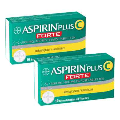 Aspirin plus C forte 800 mg/480 mg Brausetabletten  bei deutscheinternetapotheke.de bestellen