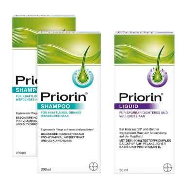 2x Priorin Shampoo Priorin Liquid Pumplösung  bei deutscheinternetapotheke.de bestellen