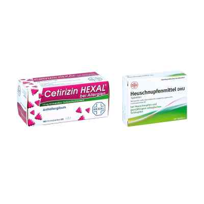 Heuschnupfenmittel DHU Tabletten - Cetirizin HEXAL  bei deutscheinternetapotheke.de bestellen