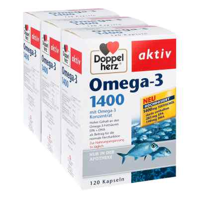 Doppelherz Omega-3 1.400 Kapseln  bei deutscheinternetapotheke.de bestellen