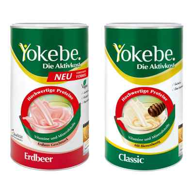 Yokebe Classic & Erdbeer Starterpaket  bei deutscheinternetapotheke.de bestellen