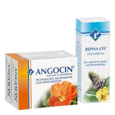 Repha Os Mundspray  Angocin Anti-Infekt N - Set  bei deutscheinternetapotheke.de bestellen
