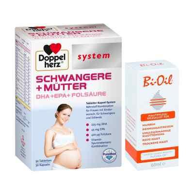 Doppelherz Schwangere  Mütter mit Bi Oil  bei deutscheinternetapotheke.de bestellen