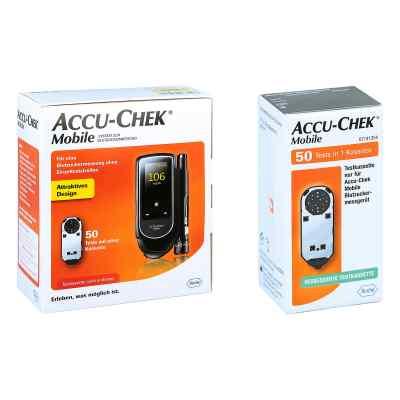Accu Chek Mobile Set mg/dl Iii + Accu Chek Mobile Testkassette  bei deutscheinternetapotheke.de bestellen