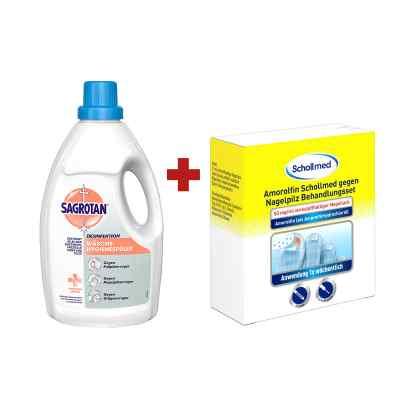 Amorolfin Scholl gegen Nagelpilz Behandlungsset + Sagrotan Wäsch  bei deutscheinternetapotheke.de bestellen