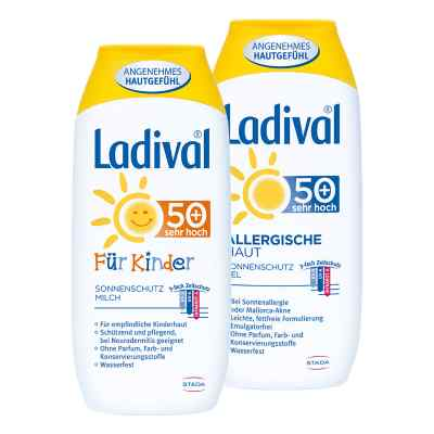 Ladival-Familien-Paket LSF 50  bei deutscheinternetapotheke.de bestellen