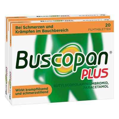 Buscopan PLUS Filmtabletten Doppelpack  bei deutscheinternetapotheke.de bestellen