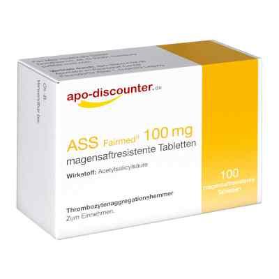 ASS 100mg von apo-discounter  bei deutscheinternetapotheke.de bestellen