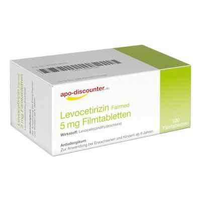 Levocetirizin 5 mg Filmtabletten von apo-discounter - bei Allerg  bei deutscheinternetapotheke.de bestellen