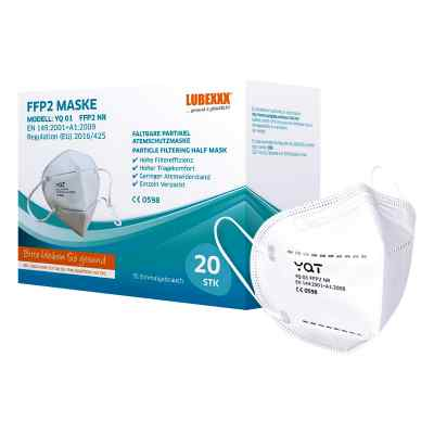 FFP2 Gesichtsmasken LUBEXXX  bei deutscheinternetapotheke.de bestellen