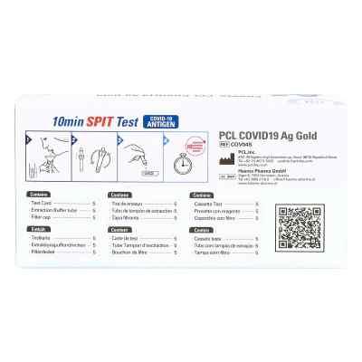 COV04S PCL COVID19 Ag Gold Speicheltest  bei deutscheinternetapotheke.de bestellen