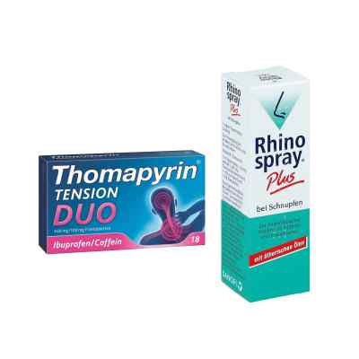 Aktionspaket - Thomapyrin TENSION DUO und Rhinospray Plus  bei deutscheinternetapotheke.de bestellen