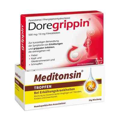 Meditonsin + Doregrippin  bei deutscheinternetapotheke.de bestellen