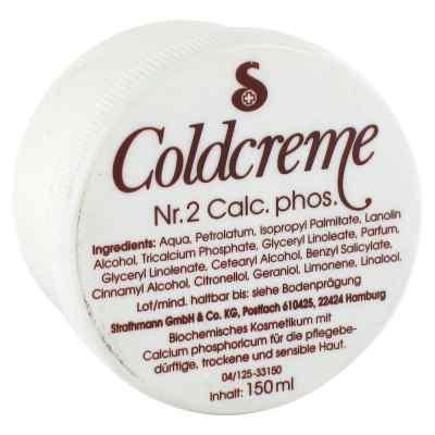 Coldcreme Nummer 2 Calcium phosph.  bei deutscheinternetapotheke.de bestellen