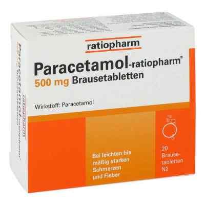 Paracetamol ratiopharm 500mg  bei deutscheinternetapotheke.de bestellen