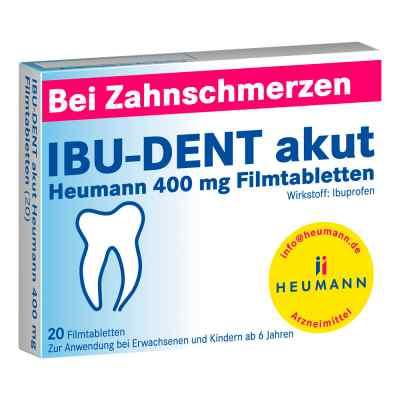 IBU-DENT akut Heumann 400mg  bei deutscheinternetapotheke.de bestellen