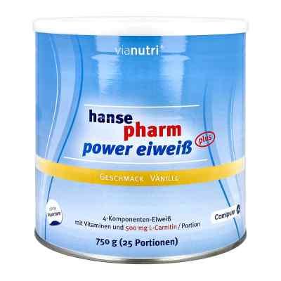 Hansepharm Power Eiweiss plus Vanille Pulver  bei deutscheinternetapotheke.de bestellen