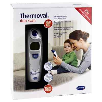 Thermoval duo scan Fieberthermometer für Ohr+Stirn  bei deutscheinternetapotheke.de bestellen