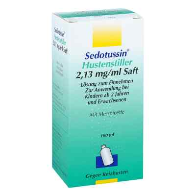 Sedotussin Hustenstiller 2,13mg/ml  bei deutscheinternetapotheke.de bestellen